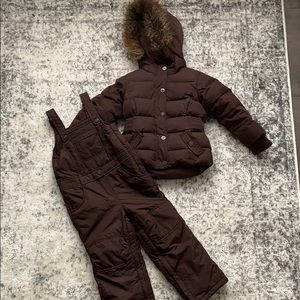 babyGap snow outfit